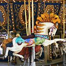 carousel horse by raindancerwoman