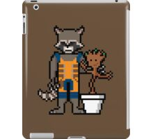 8Bit Rocket and Groot iPad Case/Skin