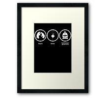 Bears Beets Battlestar Galactica Framed Print
