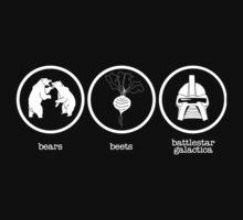 Bears Beets Battlestar Galactica by SkyGoodies