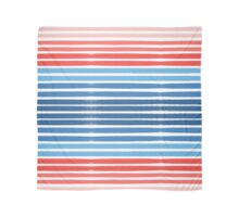Summer Stripe - Nautical, classic, blue, red, pink, trendy cell phone case Scarf