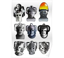 Cyberman Evolution Poster