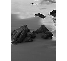 Islands in the Sand. B&W Photographic Print