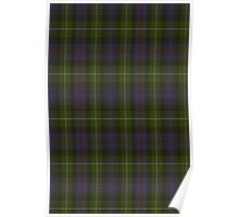 00062 MacKenzie - 1780 (Clan) as 78th Tartan  Poster