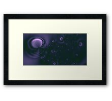 Black Hole Framed Print