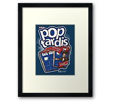 Pop Tardis Framed Print