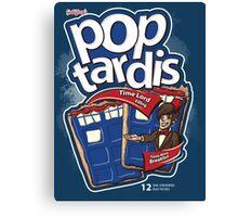 Pop Tardis Canvas Print