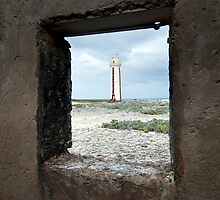 Willemstoren Lighthouse, Bonaire, Netherlands Antilles by natalies
