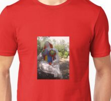 SITTING IN THE TAROT GARDEN Unisex T-Shirt