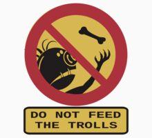 Don't Feed the Trolls Kids Tee