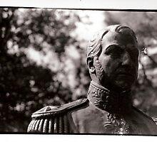 Famous Head in Hermann Park, Houston by Caitlin Dennler