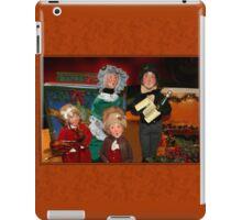 Here We Come A-Caroling... iPad Case/Skin