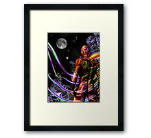 Space Time 179 Framed Print