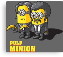 Pulp Minion Canvas Print