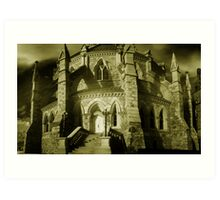 Gothic Detail - Library of Parliament Art Print