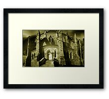 Gothic Detail - Library of Parliament Framed Print