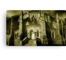 Gothic Detail - Library of Parliament Canvas Print