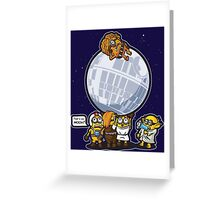 Rebel Mininons Greeting Card