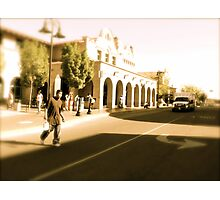 Heading To The Station, Albuquerque In April Series 2009 Photographic Print