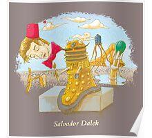 Salvador Dalek Poster