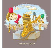 Salvador Dalek Photographic Print