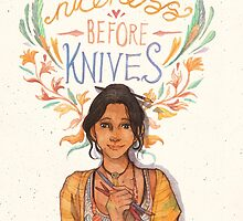 Niceness Before Knives by watercolorteas