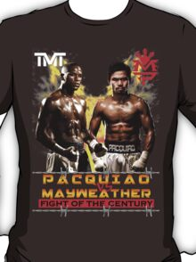 Flod mayweather Vs Many pacquiao Boxing T-Shirt