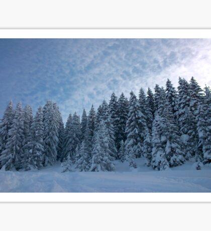 Alpine Wonderland Sticker