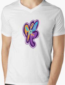 Purple Freeform Flower T-Shirt