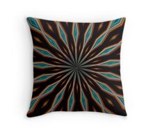Absract Symetrical Throw Pillow