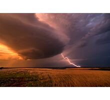 LP (Low Precipitation) SuperCell Photographic Print