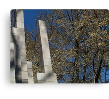Branches and Blocks Canvas Print