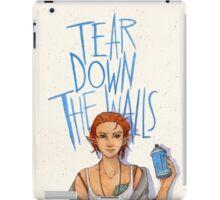 Tear Down the Wall iPad Case/Skin