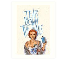 Tear Down the Wall Art Print