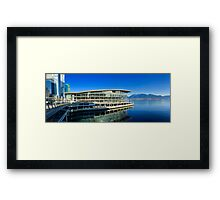 Vancouver Convention Centre Framed Print