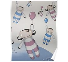 Flying Babies Poster