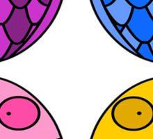 Quattro Gufi Sticker