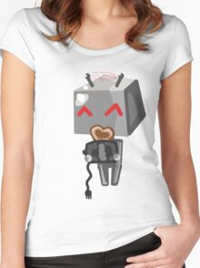 Toaster Love  Women's Fitted Scoop T-Shirt