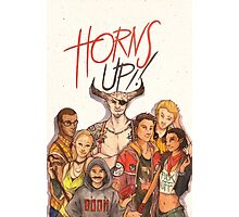 Horns Up! Photographic Print