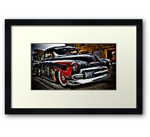 Greaser Style Baby!!! Framed Print