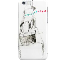 shell of train lamp iPhone Case/Skin