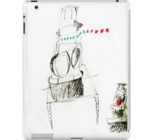 shell of train lamp iPad Case/Skin