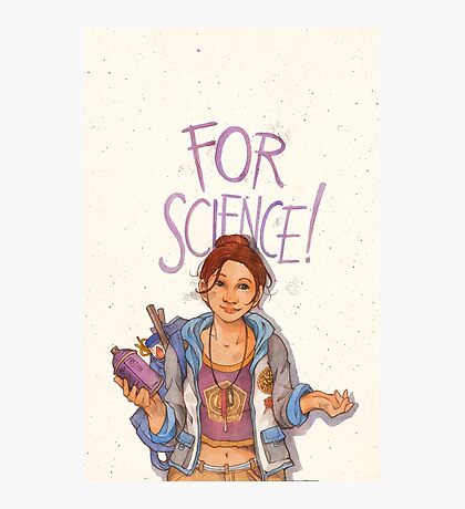 For Science! Photographic Print