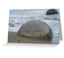Rock Cork Greeting Card
