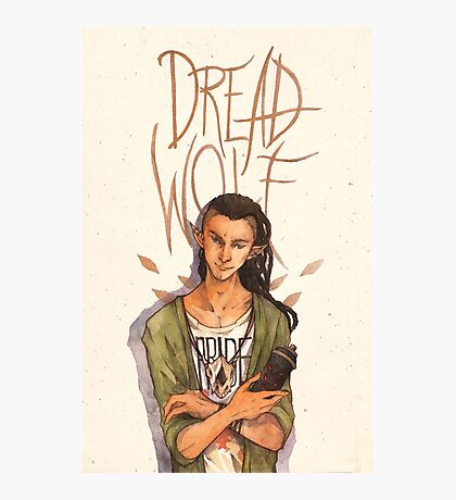 Dread Wolf Photographic Print