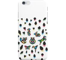 Rainbow Anigami Central Composition iPhone Case/Skin