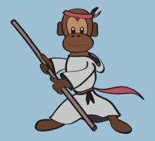 Martial Arts Monkey Kids Tee
