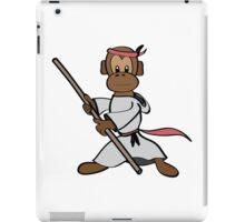 Martial Arts Monkey iPad Case/Skin