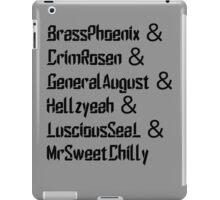 Breachers iPad Case/Skin