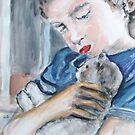 Mia's Kitten by Reynaldo
